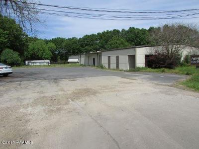 Lafayette Commercial For Sale: 121 E Gloria Switch Road