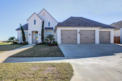 Broussard Single Family Home For Sale: 103 Bronze Palm Way
