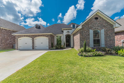 Broussard Single Family Home For Sale: 104 Tortoise Lane