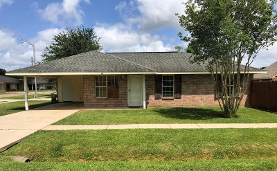 Duson Single Family Home For Sale: 202 Courtney Drive