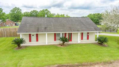 Port Barre Single Family Home For Sale: 3227 La-741