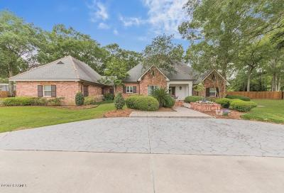 Breaux Bridge Single Family Home For Sale: 1025 Bayou Bend Circle