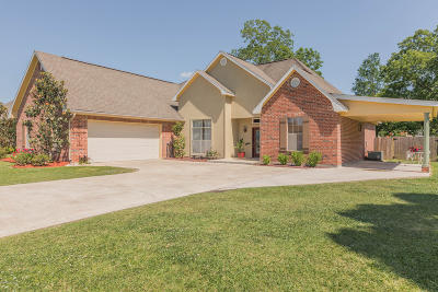 Breaux Bridge Single Family Home For Sale: 1008 Live Oak Circle