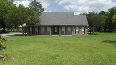 Iberia Parish Single Family Home For Sale: 3114 Coteau Holmes Road