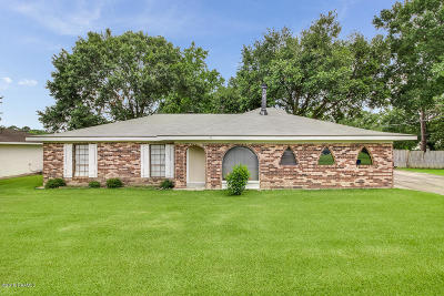 Iberia Parish Single Family Home For Sale: 707 Puebla Street