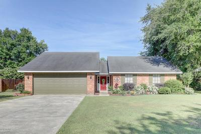 Youngsville Single Family Home For Sale: 105 Elie Drive