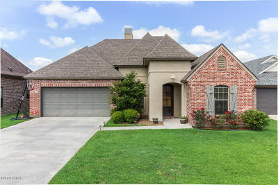 Lafayette Single Family Home For Sale: 104 Grazing Trace Drive