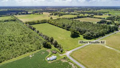 Farm For Sale: Tbd Albert Venable Road