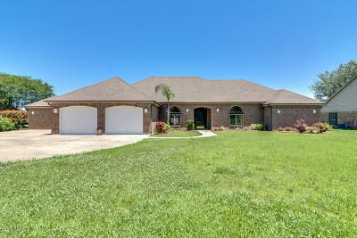 New Iberia Single Family Home For Sale: 736 Hummingbird Lane