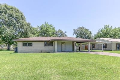 New Iberia Single Family Home For Sale: 310 East Drive