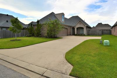 broussard Single Family Home For Sale: 103 Heron Point Dr. Drive