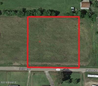 Acadia Parish Residential Lots & Land For Sale: 2595 Heritage Road