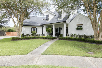 broussard Single Family Home For Sale: 209 Capilano Lane