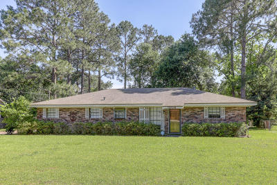 New Iberia Single Family Home For Sale: 2914 Old Jeanerette Road