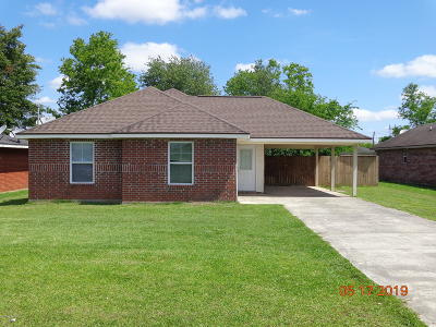 New Iberia Single Family Home For Sale: 2516 Phyllis Drive