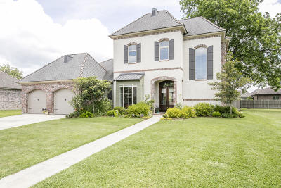 Broussard Single Family Home For Sale: 110 Reservoir Road