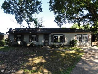 Lafayette LA Single Family Home For Sale: $45,000