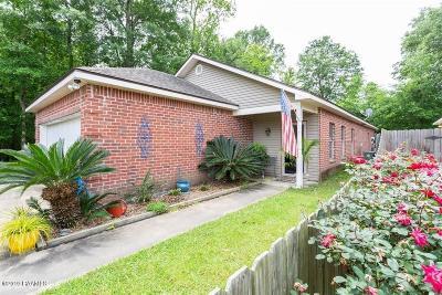 Carencro  Single Family Home For Sale: 306 Bottle Brush Lane