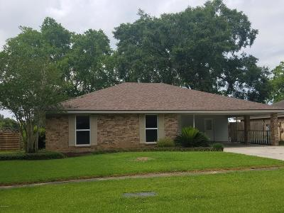 broussard Single Family Home For Sale: 308 Confederate Avenue