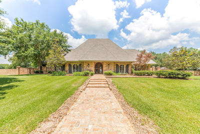 Carencro Single Family Home For Sale: 3022 W Gloria Switch Road