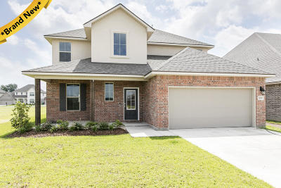 Youngsville Single Family Home For Sale: 203 Voiliere Drive