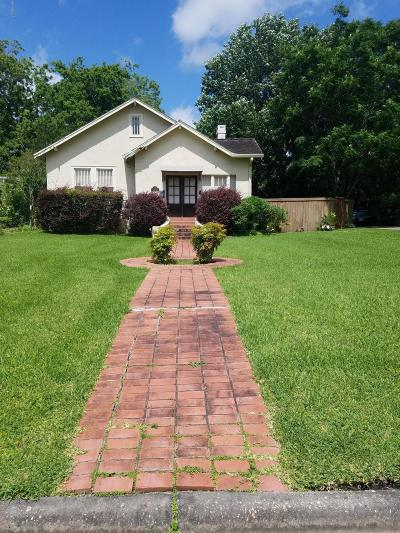 Abbeville Single Family Home For Sale: 109 N Henry Street