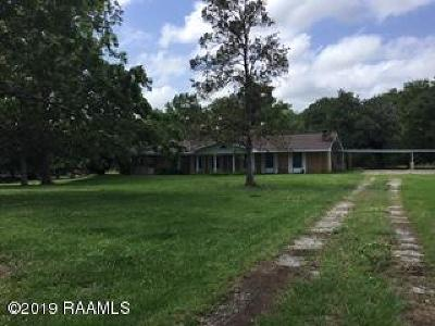 St. Martinville Single Family Home For Sale: 5091 Main Hwy