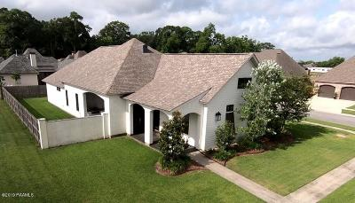 Youngsville Single Family Home For Sale: 100 Perdu Hill Run