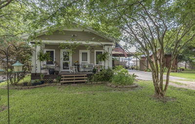 Arnaudville Single Family Home For Sale: 113 E Railroad Avenue