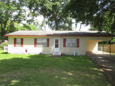 Ville Platte Single Family Home For Sale: 128 Wyble Road