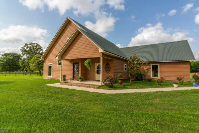 Opelousas Single Family Home For Sale: 1644 Prayer House Road