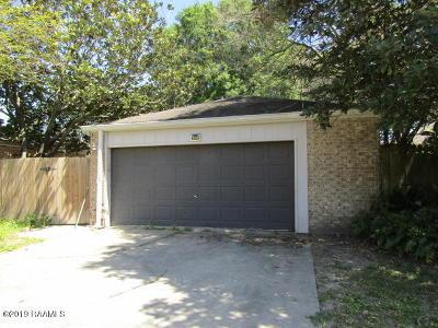 Lafayette Parish Single Family Home For Sale: 505 Kaiser Drive