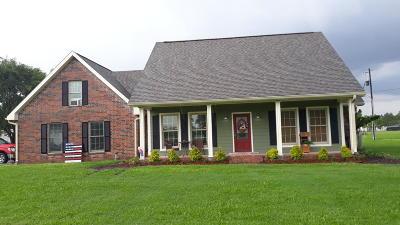 St Martinville, Breaux Bridge, Opelousas Single Family Home For Sale: 1792 Austin Road