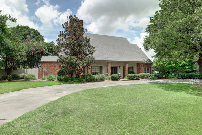 Lafayette Single Family Home For Sale: 1200 W West Bayou Parkway Parkway