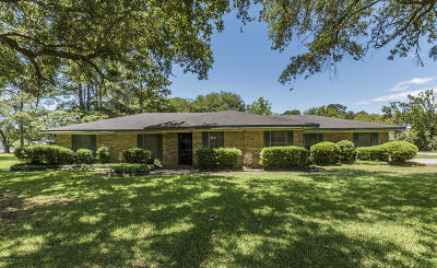 Iberia Parish Single Family Home For Sale: 101 Belair Drive
