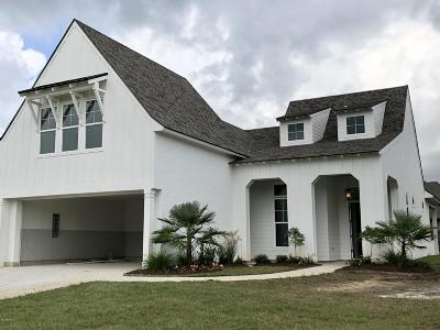 Broussard Single Family Home For Sale: 307 Easy Rock Landing Drive