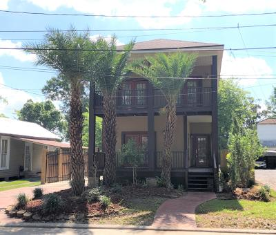 Franklin Single Family Home For Sale: 1012 Perret Street
