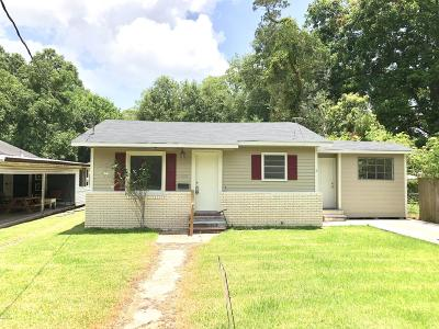 Eunice Single Family Home For Sale: 350 N St. Joseph Street