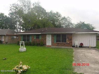 Iberia Parish Single Family Home For Sale: 405 Silver Street