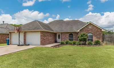 Carencro  Single Family Home For Sale: 333 Herlil Circle