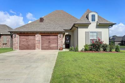 Broussard Single Family Home For Sale: 400 Channel Drive