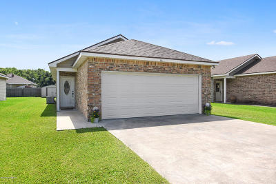 Carencro Single Family Home For Sale: 203 Bottlebrush Lane