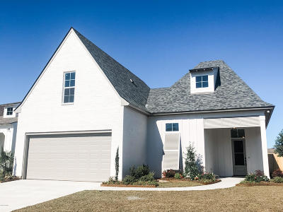 Broussard Single Family Home For Sale: 309 Easy Rock Landing Drive
