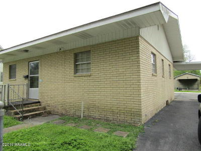 Jeanerette Single Family Home Active/Contingent: 317 Kentucky Street