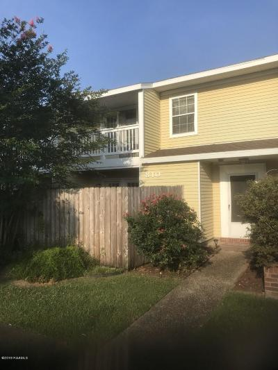 Lafayette Single Family Home For Sale: 101 Wilbourn Boulevard #810