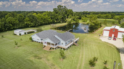 Abbeville Single Family Home For Sale: 14823 S Cougar Road