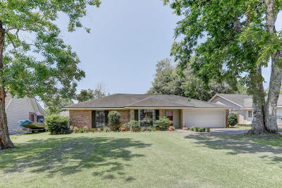 Lafayette Single Family Home For Sale: 314 Bellevue Plantation Road