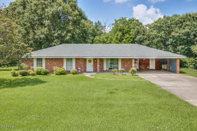 Abbeville Single Family Home For Sale: 7720 Walnut Road Road