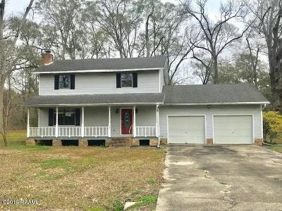 Breaux Bridge Single Family Home For Sale: 1085 Earline Drive