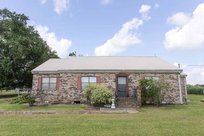 St. Martinville Single Family Home For Sale: 7116 Cemetery Hwy